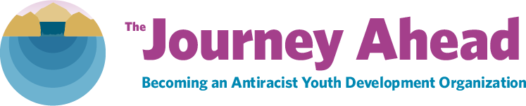 Logo of The Journey Ahead: Becoming an Antiracist Youth Development Organization (BAYDO)